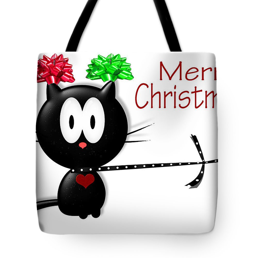 Christmas Tote Bag featuring the photograph Christmas Four by Tina M Wenger