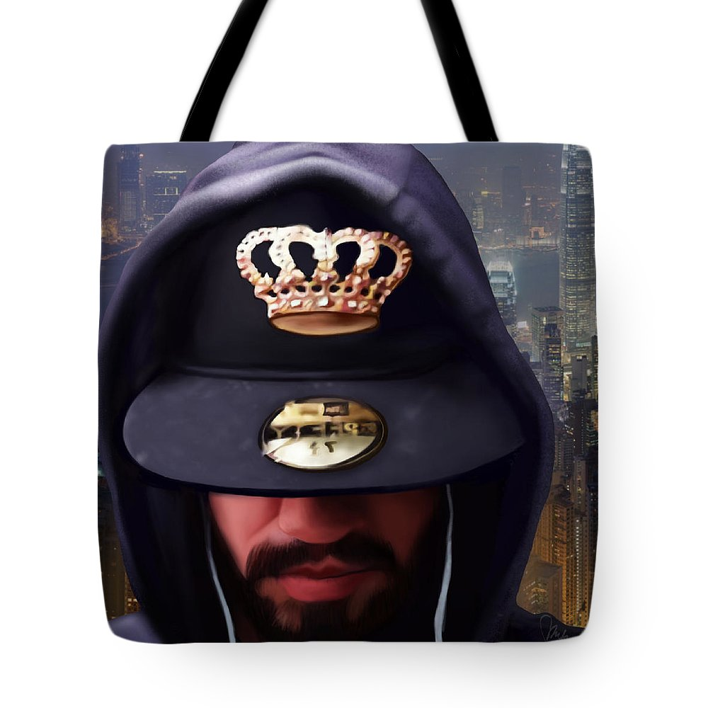 Photo Realism Tote Bag featuring the digital art Christopher by Muffin Jones