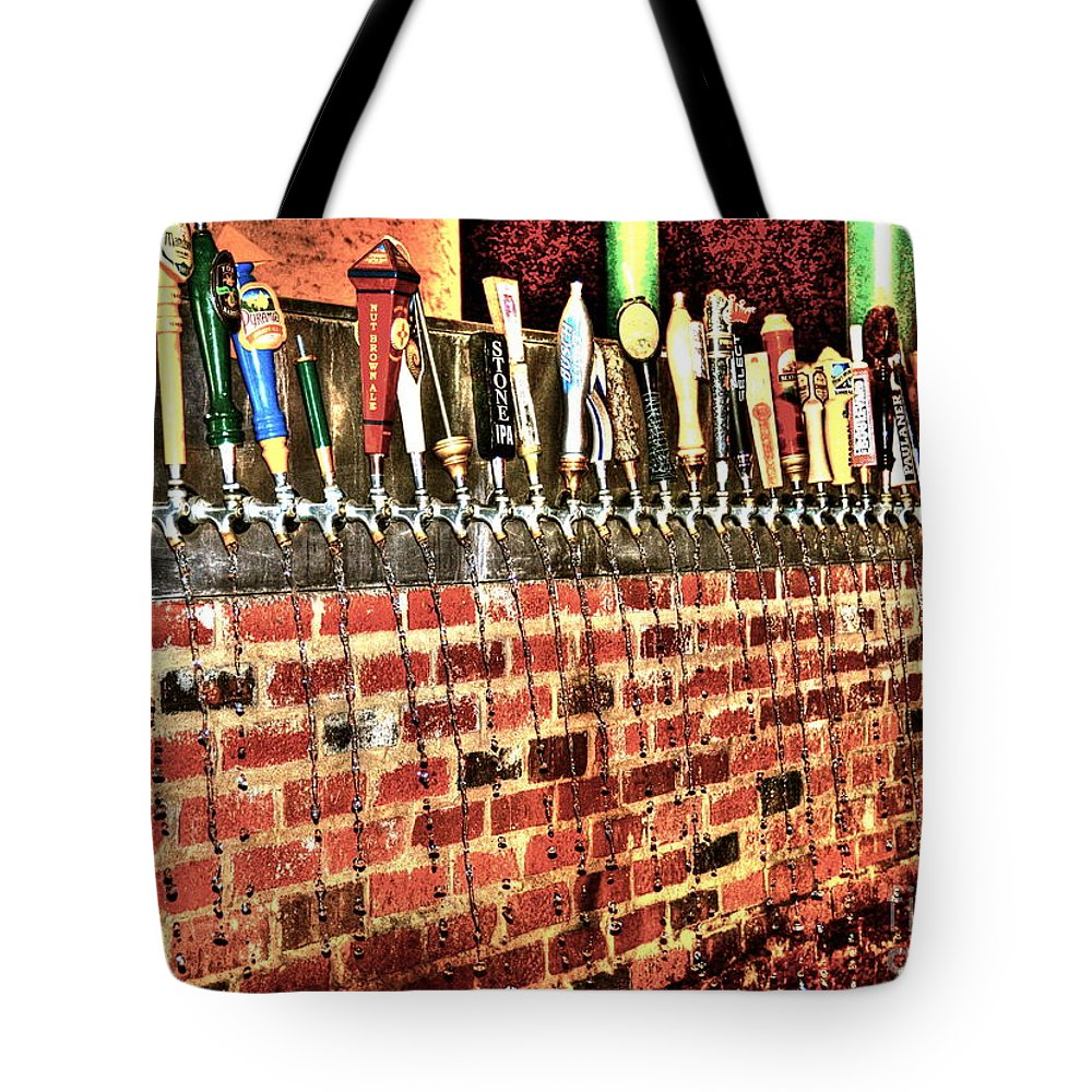 Beer Tote Bag featuring the photograph Chug by Debbi Granruth