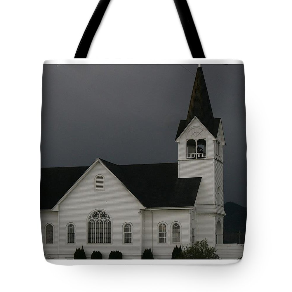 Church Tote Bag featuring the photograph Church 2 by Marv Russell