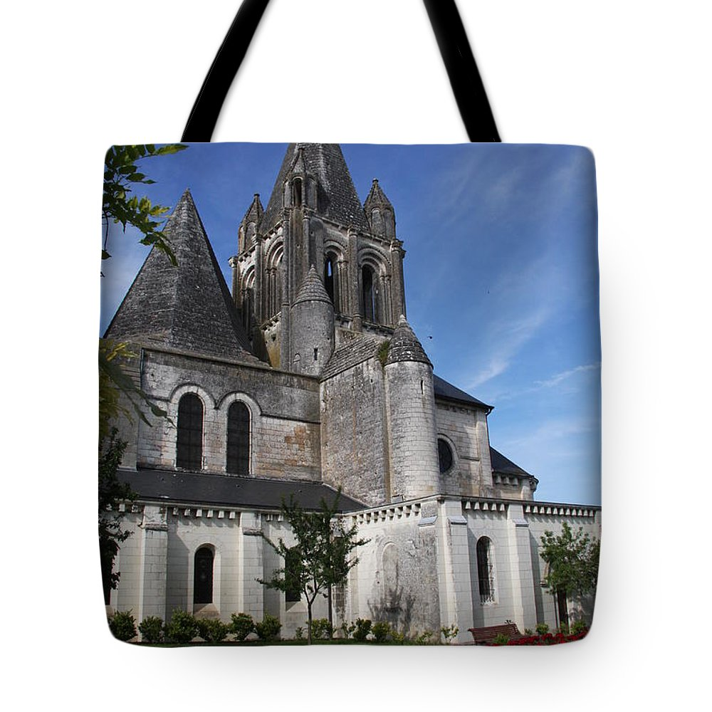 Church Tote Bag featuring the photograph Church - Loches - France by Christiane Schulze Art And Photography