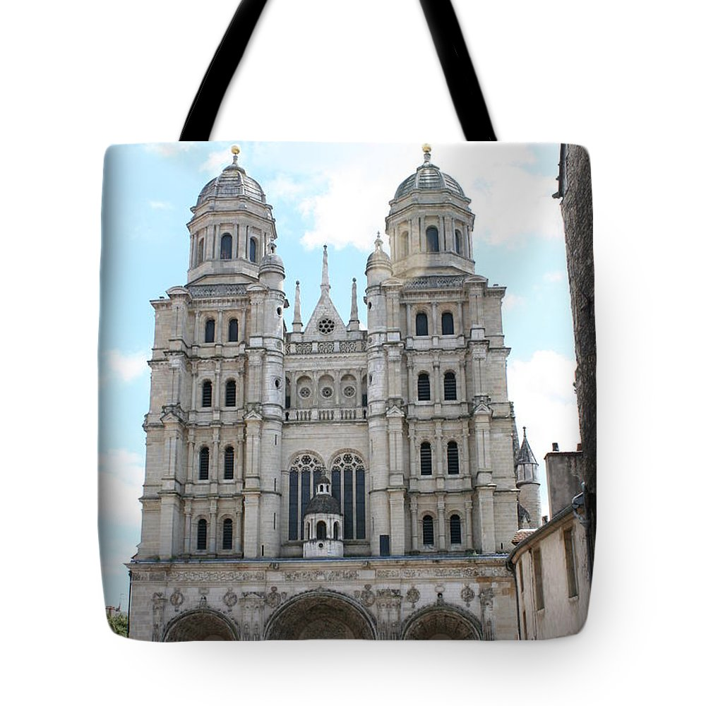 Church Tote Bag featuring the photograph Church Saint Michel - Dijon by Christiane Schulze Art And Photography