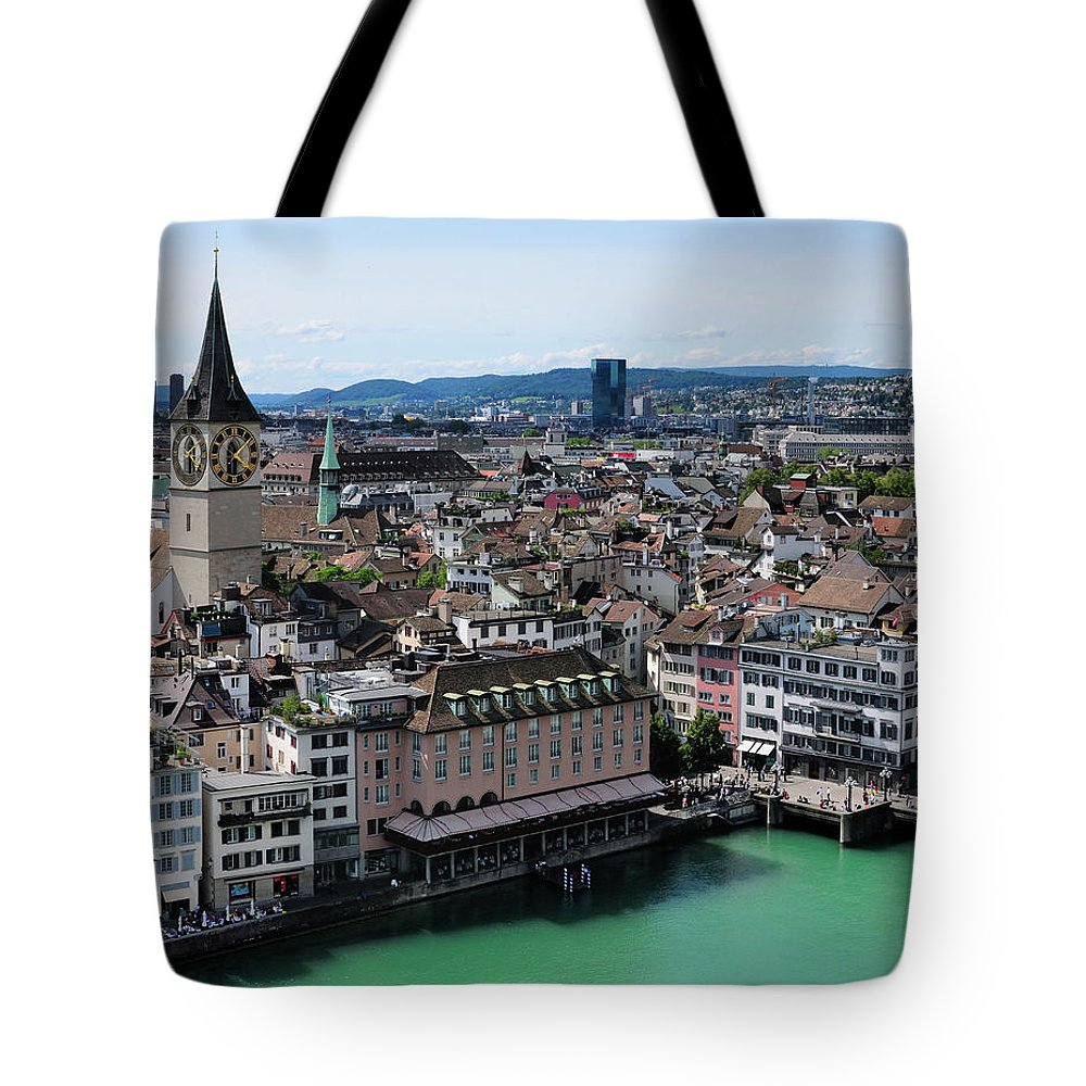 Tranquility Tote Bag featuring the photograph Church Sankt Peter by Werner Büchel