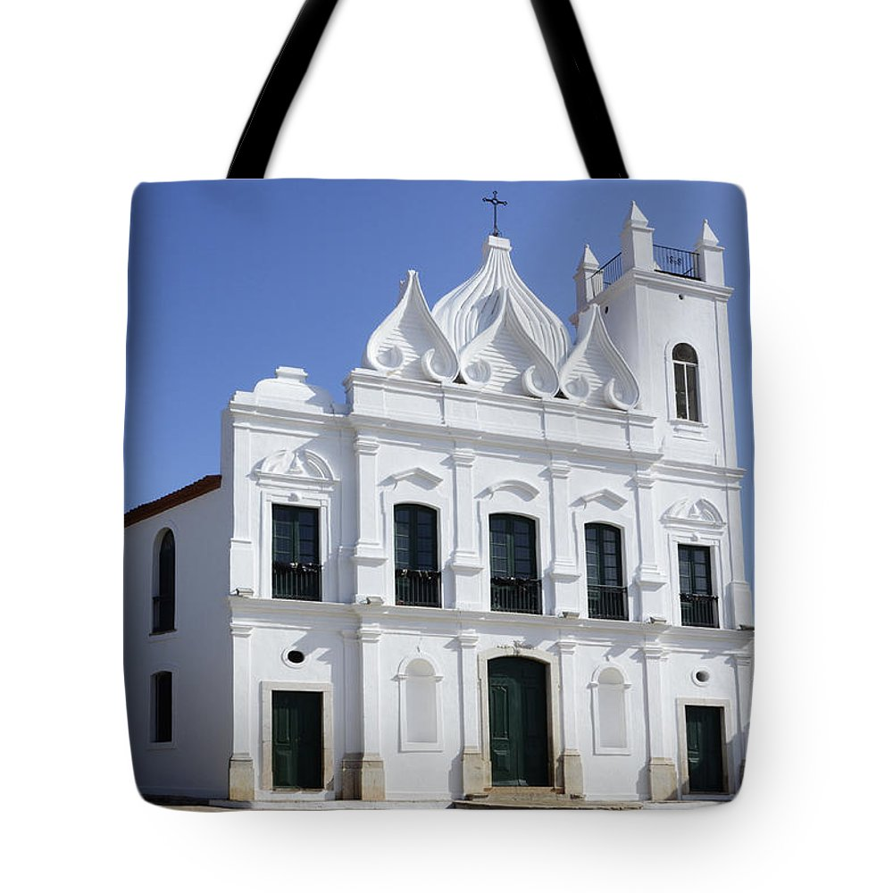Church Tote Bag featuring the photograph Church Sao Luis Brazil by Bob Christopher