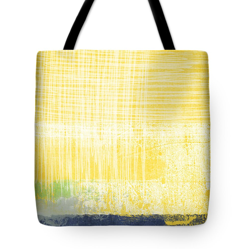 Abstract Painting Tote Bag featuring the painting Circadian by Linda Woods
