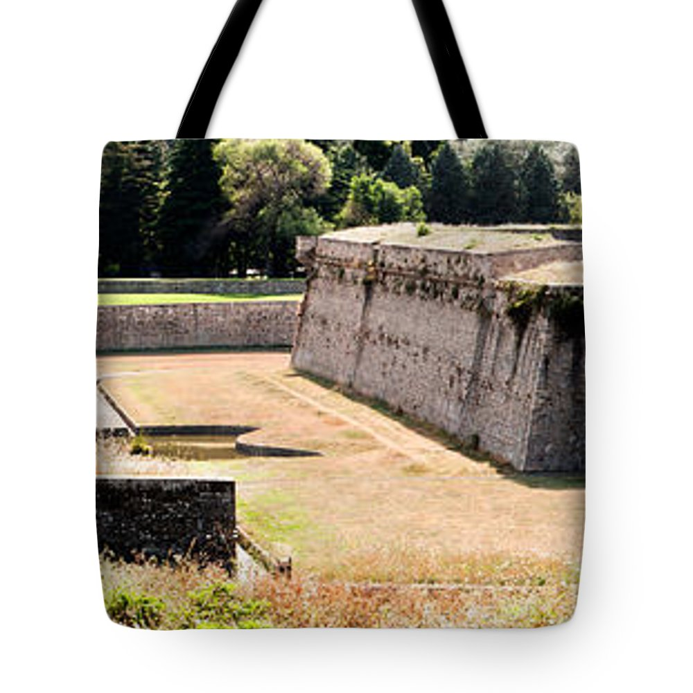 Citadel Killing Zone Tote Bag featuring the photograph Citadel Killing Zone by Weston Westmoreland