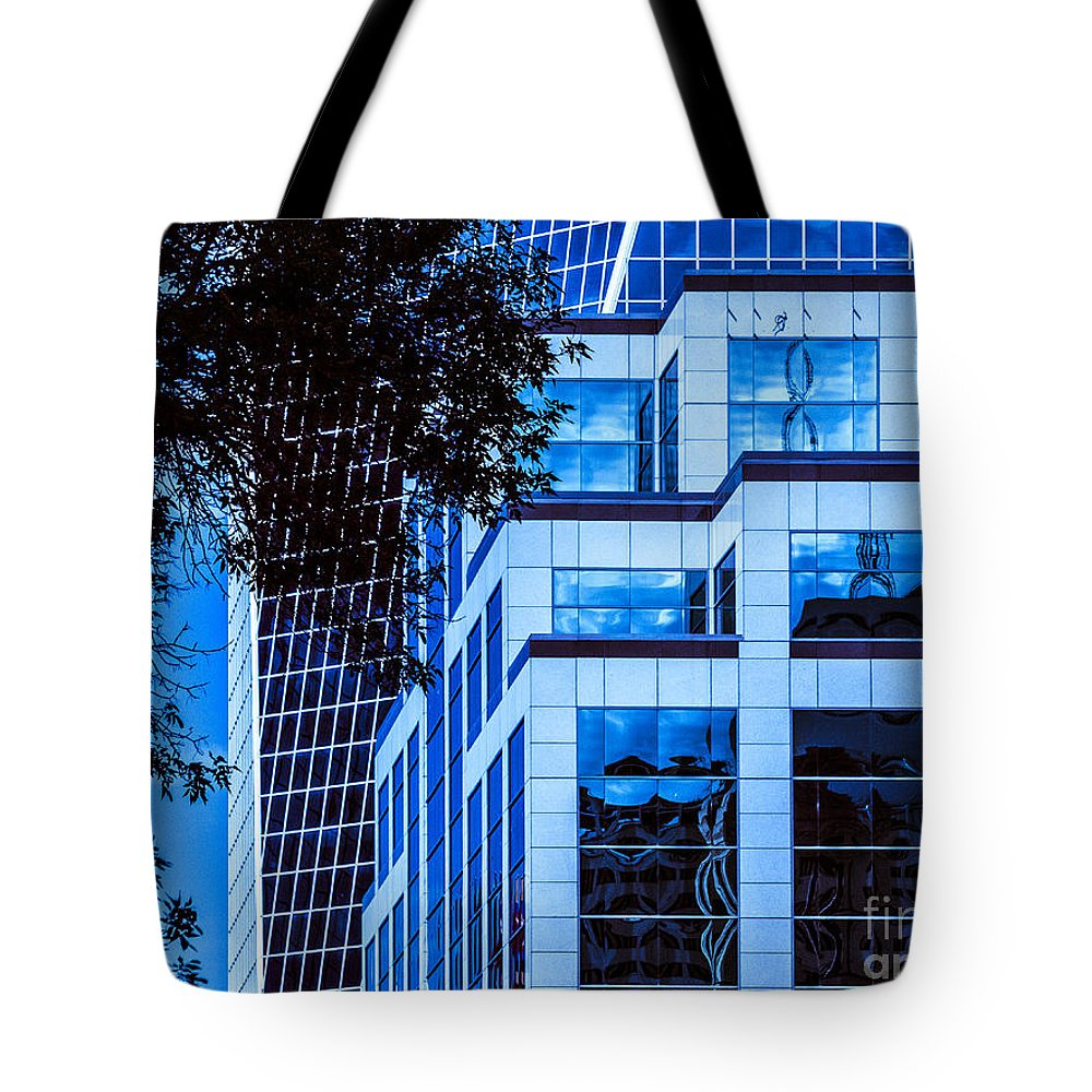Urban Tote Bag featuring the photograph City Center-96 by David Fabian
