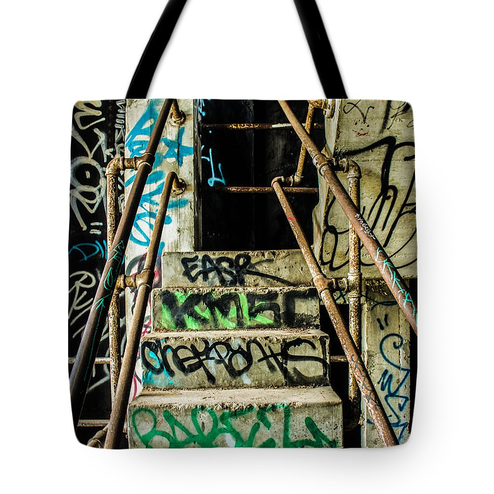 Grunge Tote Bag featuring the photograph City Grunge by Brooke Fuller