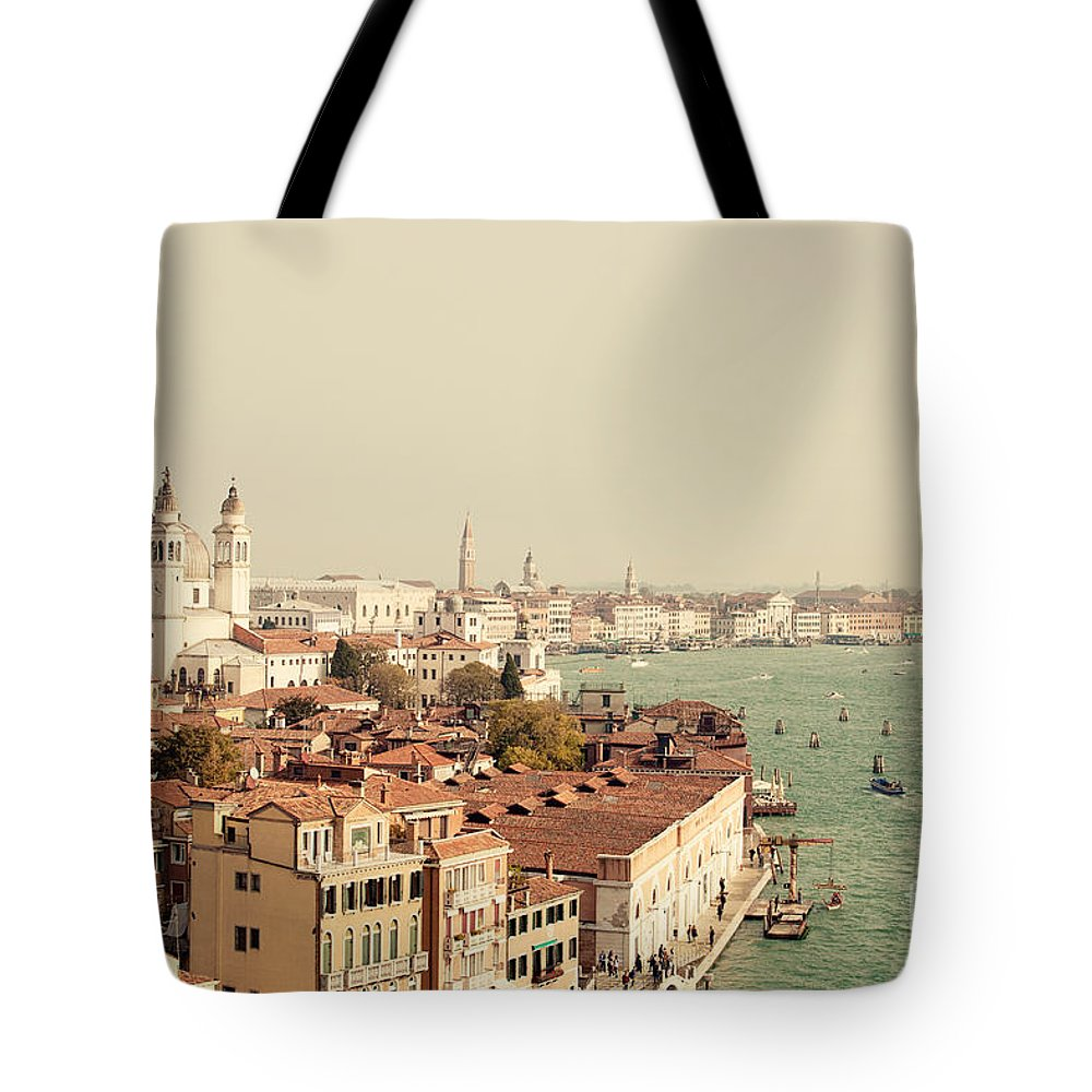 Venice Italy Tote Bag featuring the photograph City Of Venice by Erin Johnson