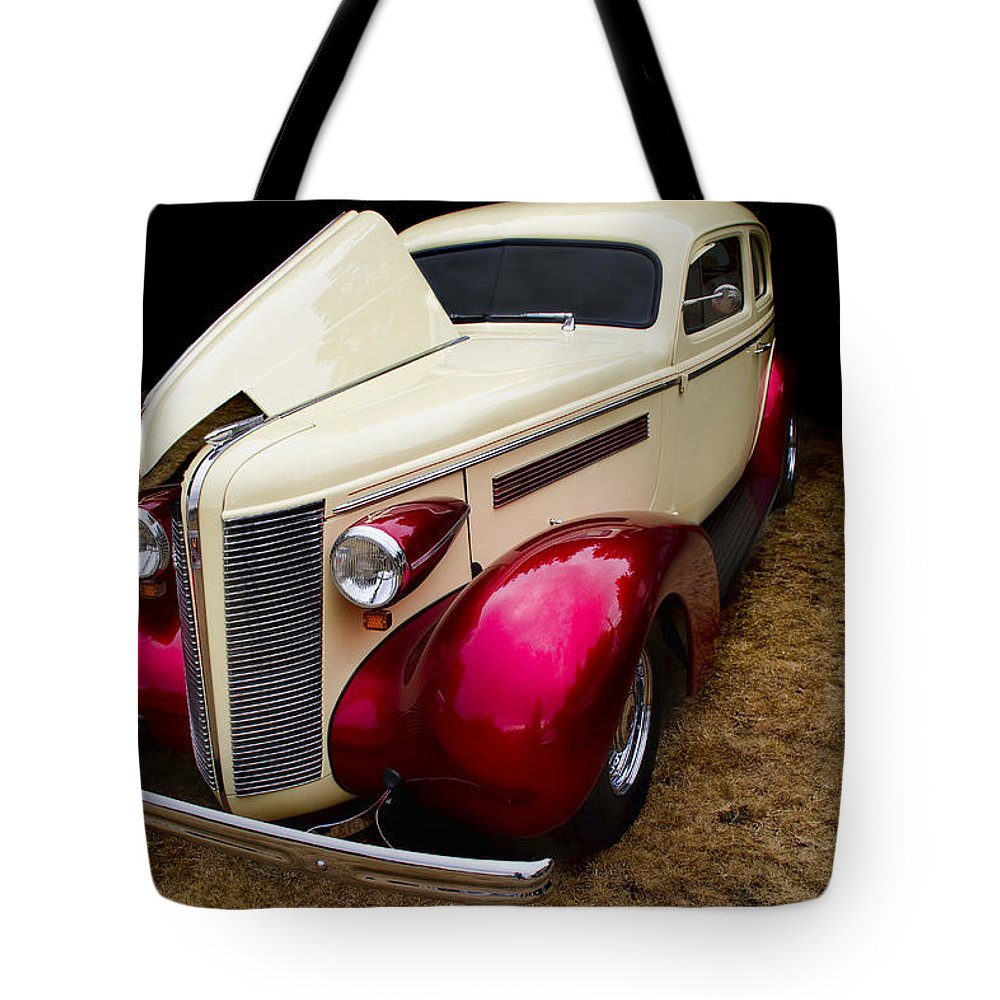 Buick Tote Bag featuring the photograph Classic Car - 1937 Buick Century by Peggy Collins