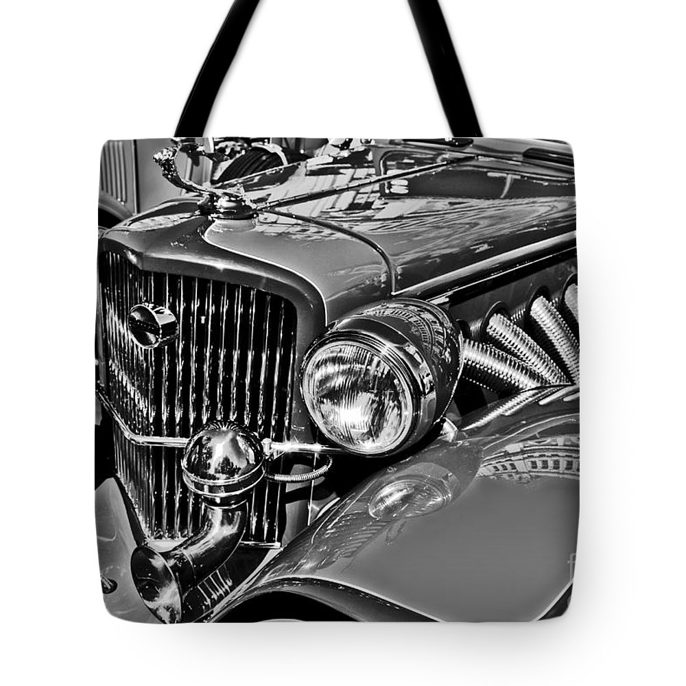 Concorde Tote Bag featuring the photograph Classic Car Detail by Carlos Alkmin