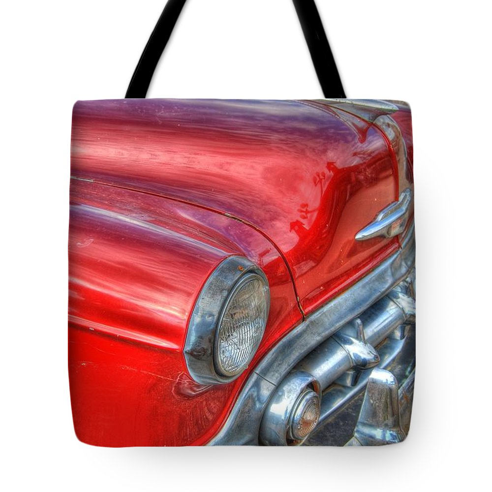 Chevy Tote Bag featuring the photograph Classic Chevy by Tam Ryan