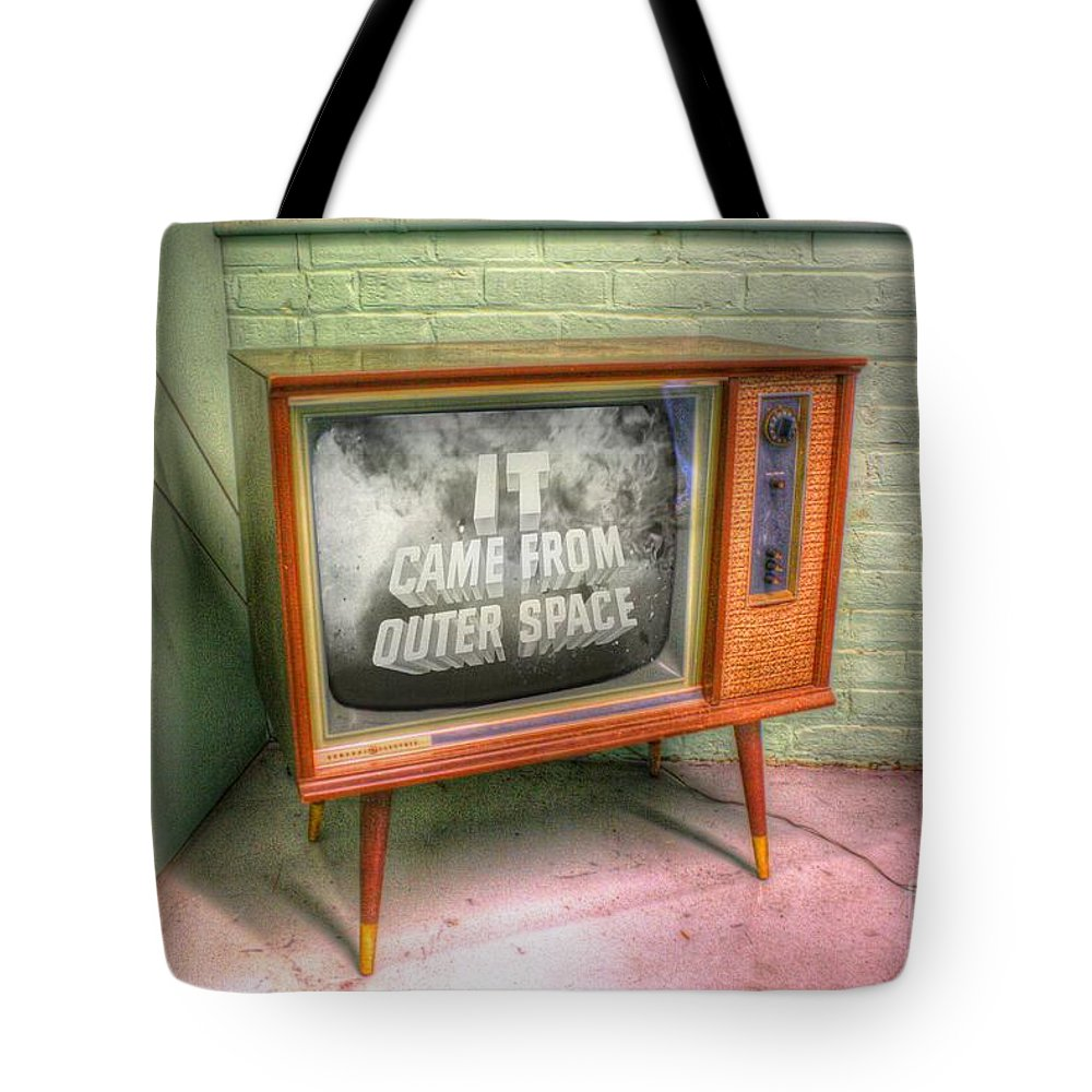 Tv Tote Bag featuring the photograph Classic Tv by Dan Stone