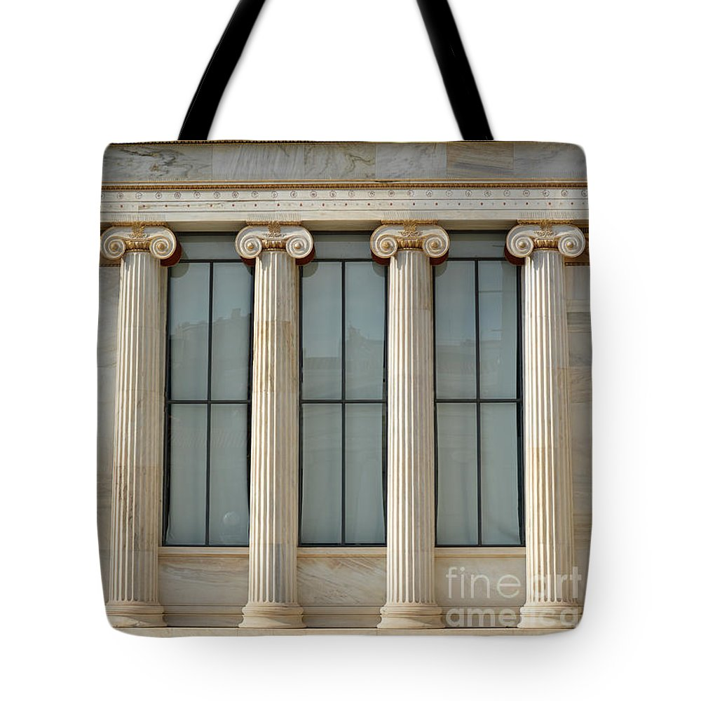 Greece Tote Bag featuring the photograph Classical Greek by Grigorios Moraitis