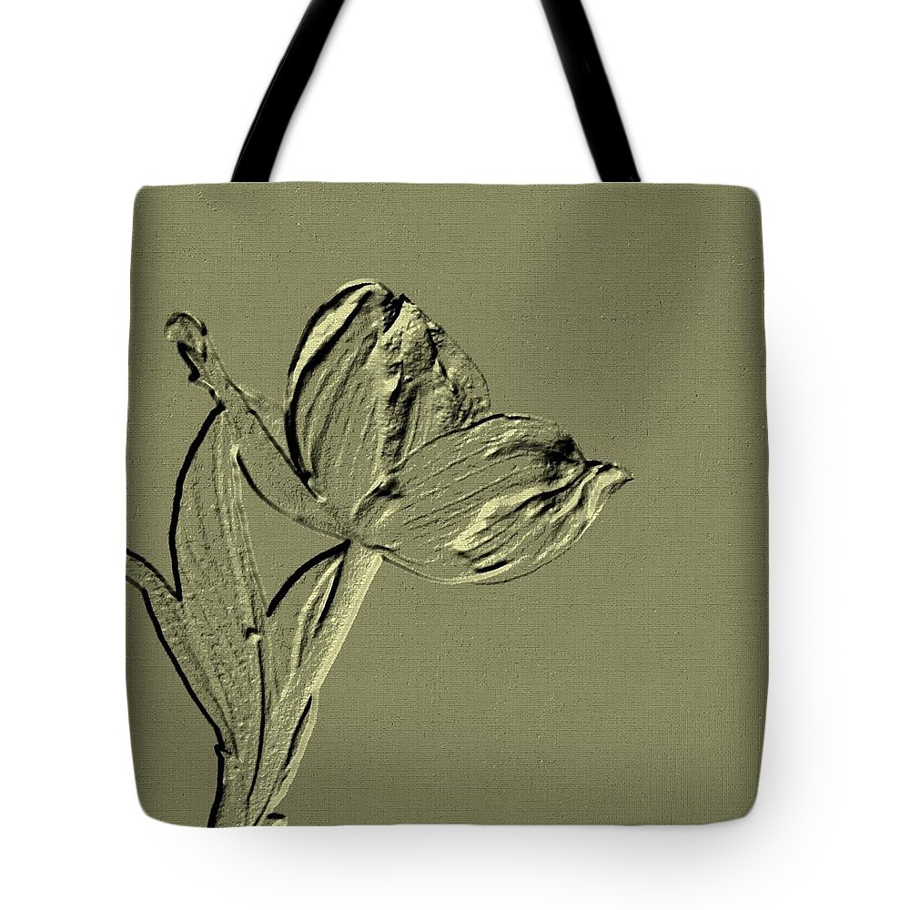 Classy Tote Bag featuring the digital art Classy by Maria Urso