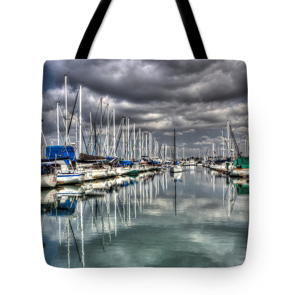 Adventure Tote Bag featuring the photograph Clearing Storm by Heidi Smith