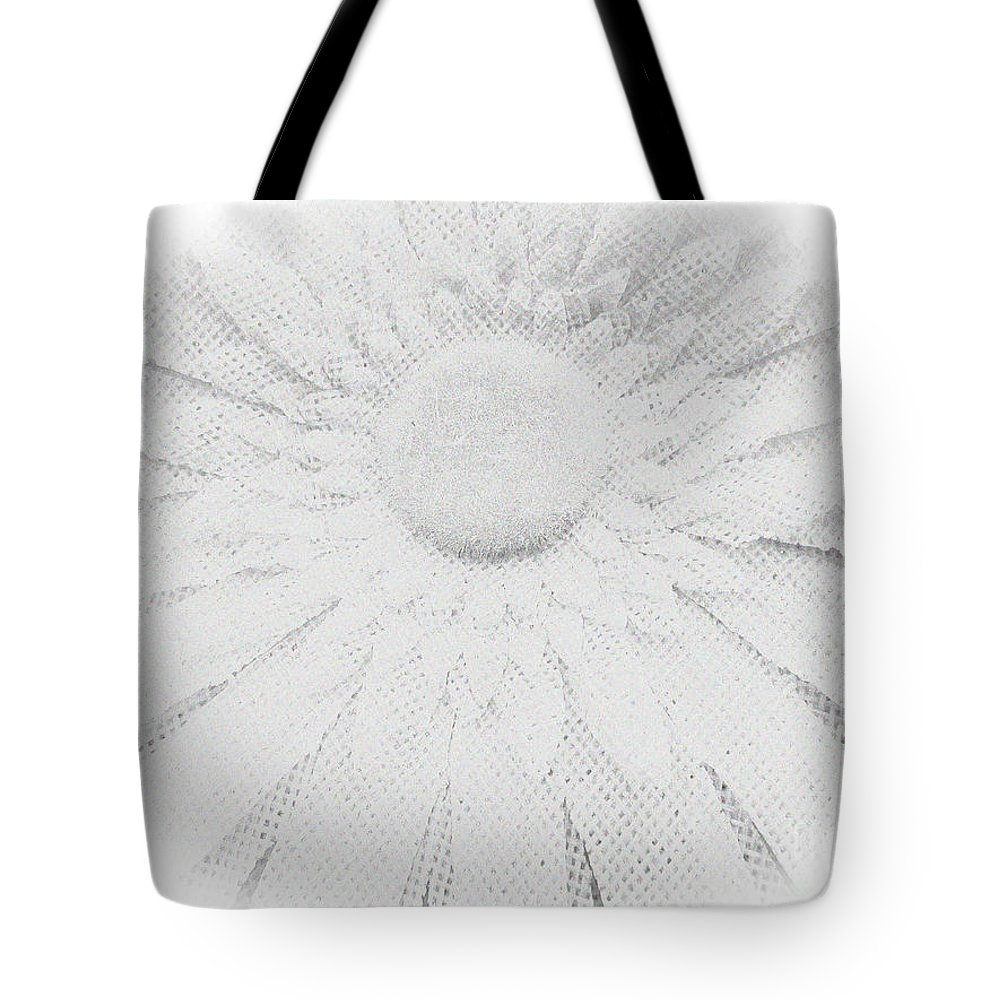 Flower Tote Bag featuring the photograph Clearly White Daisy by Tina M Wenger
