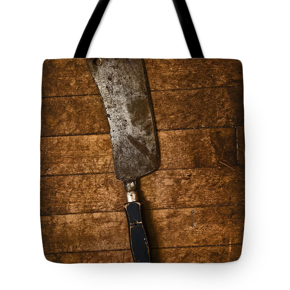 Cleaver Tote Bag featuring the photograph Cleaver by Margie Hurwich