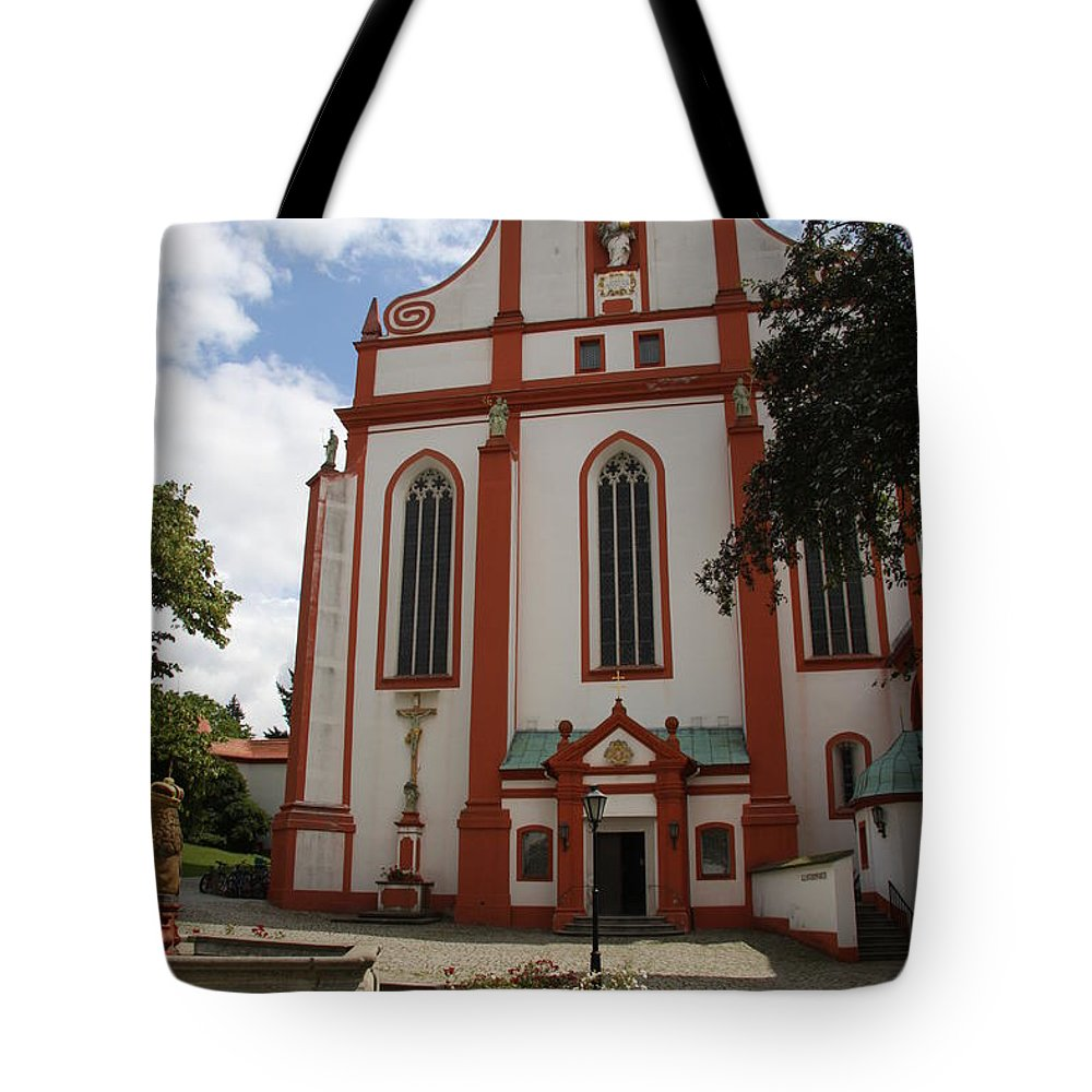 Cloister Tote Bag featuring the photograph Cloister - St. Marienstern by Christiane Schulze Art And Photography