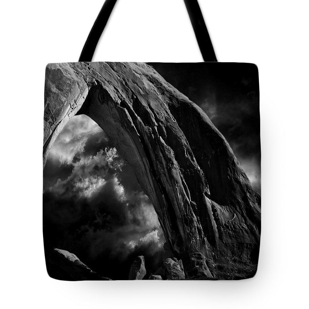 Atmosphere Tote Bag featuring the photograph Cloud 127 by Ingrid Smith-Johnsen