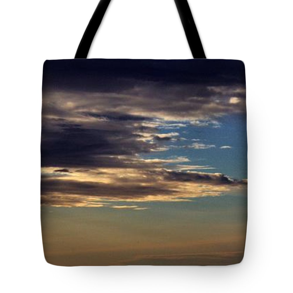 Clouds Tote Bag featuring the photograph Cloud Abstract by Samantha Glaze