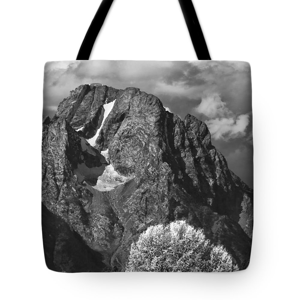 Cloud Bank Tote Bag featuring the photograph Cloud Bank by Wes and Dotty Weber