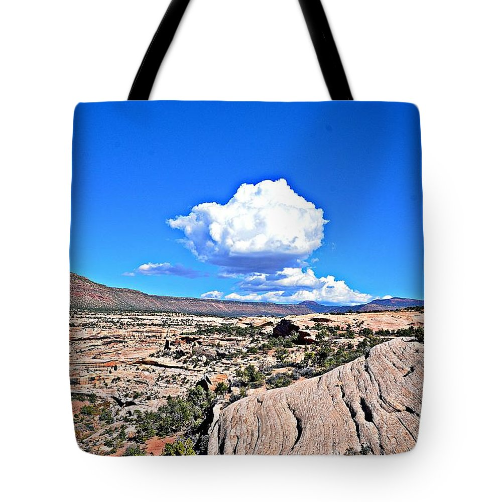 Clouds Tote Bag featuring the photograph Cloud In Colorado by Randy J Heath