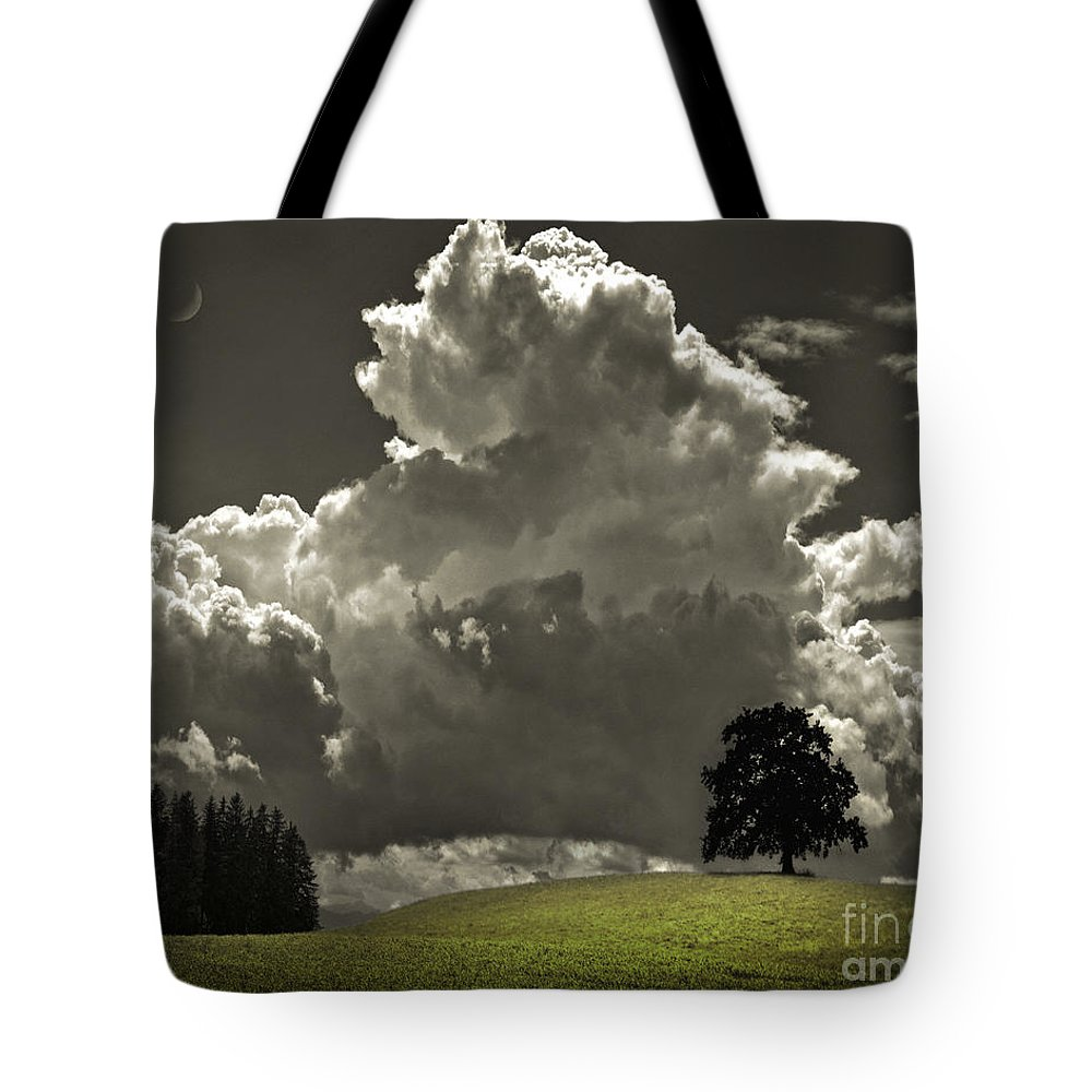 Europe Tote Bag featuring the photograph Cloud No.9 by Edmund Nagele
