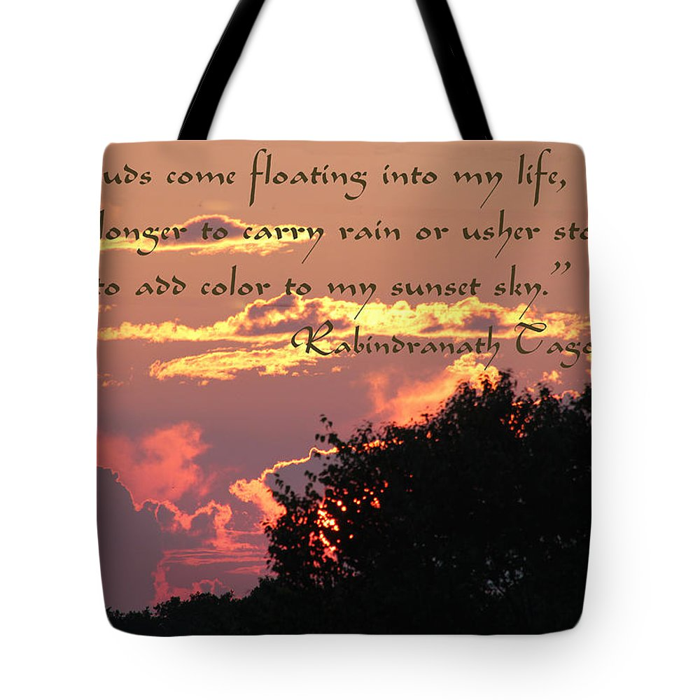 Clouds Tote Bag featuring the photograph Clouds - Featured In Beauty Captured Group by Ericamaxine Price