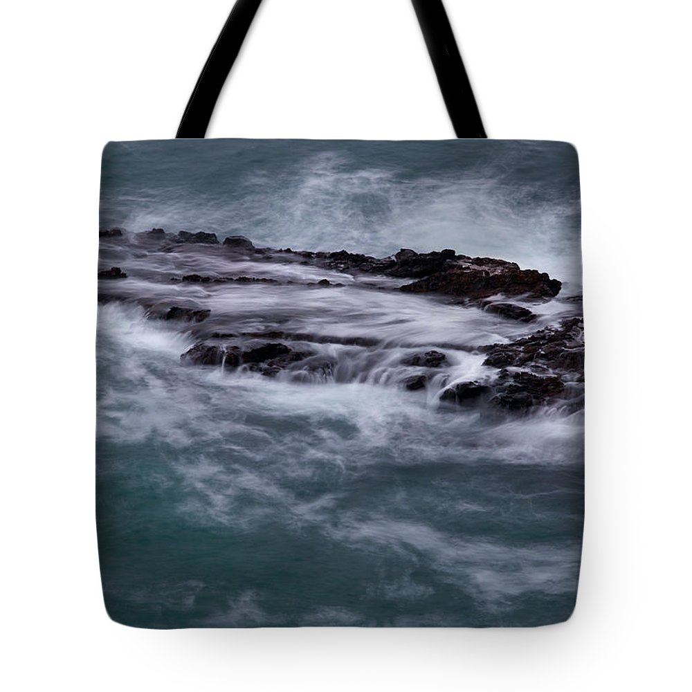 Beach Tote Bag featuring the photograph Coastal Rocks Off Rancho Palo Verdes Photography By Denise Dube by Denise Dube
