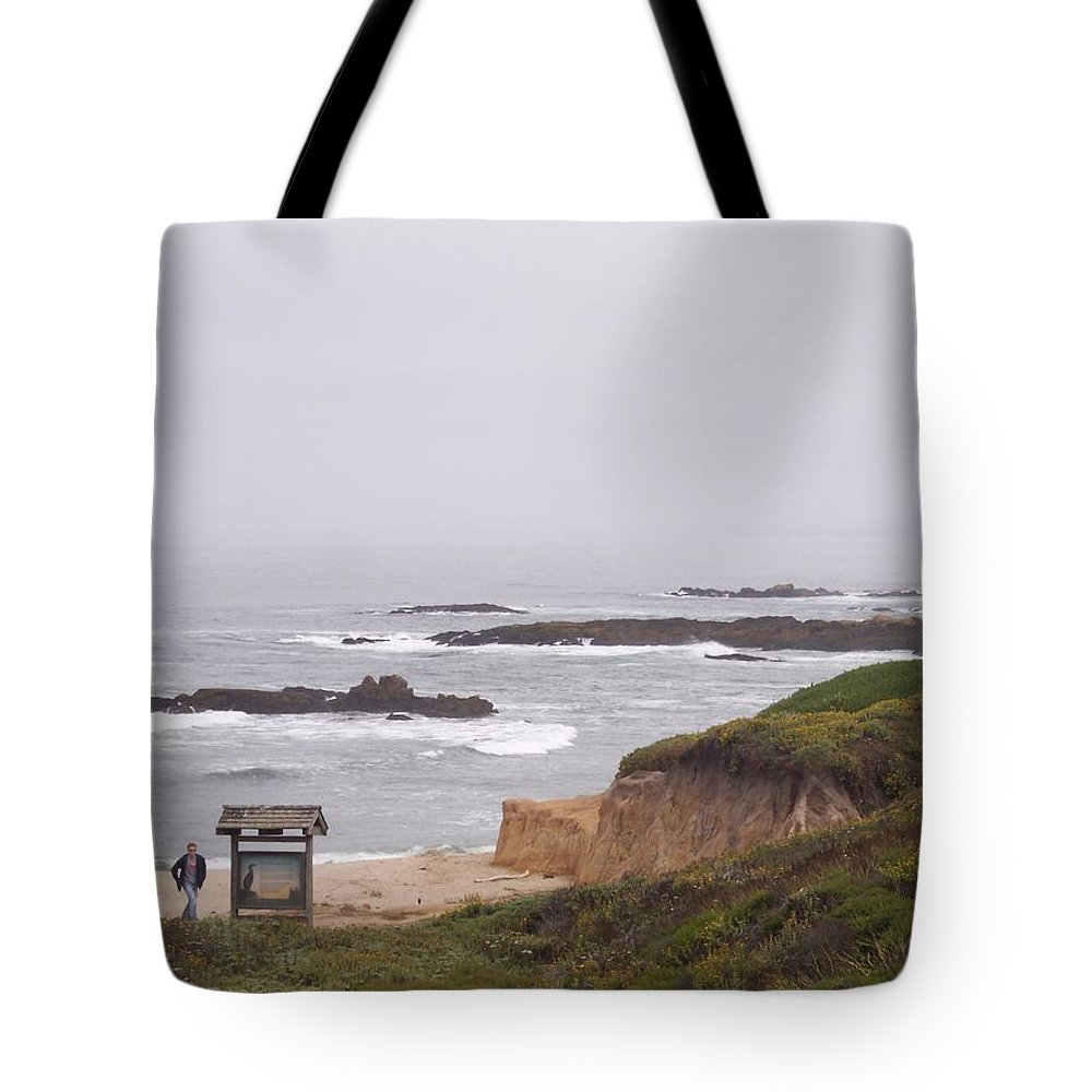 Coast Tote Bag featuring the photograph Coastal Scene 7 by Pharris Art