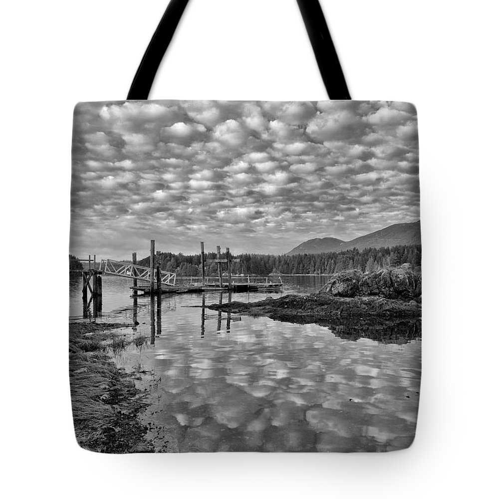 Clouds Tote Bag featuring the photograph Cobblestone Sky Harbor by Allan Van Gasbeck