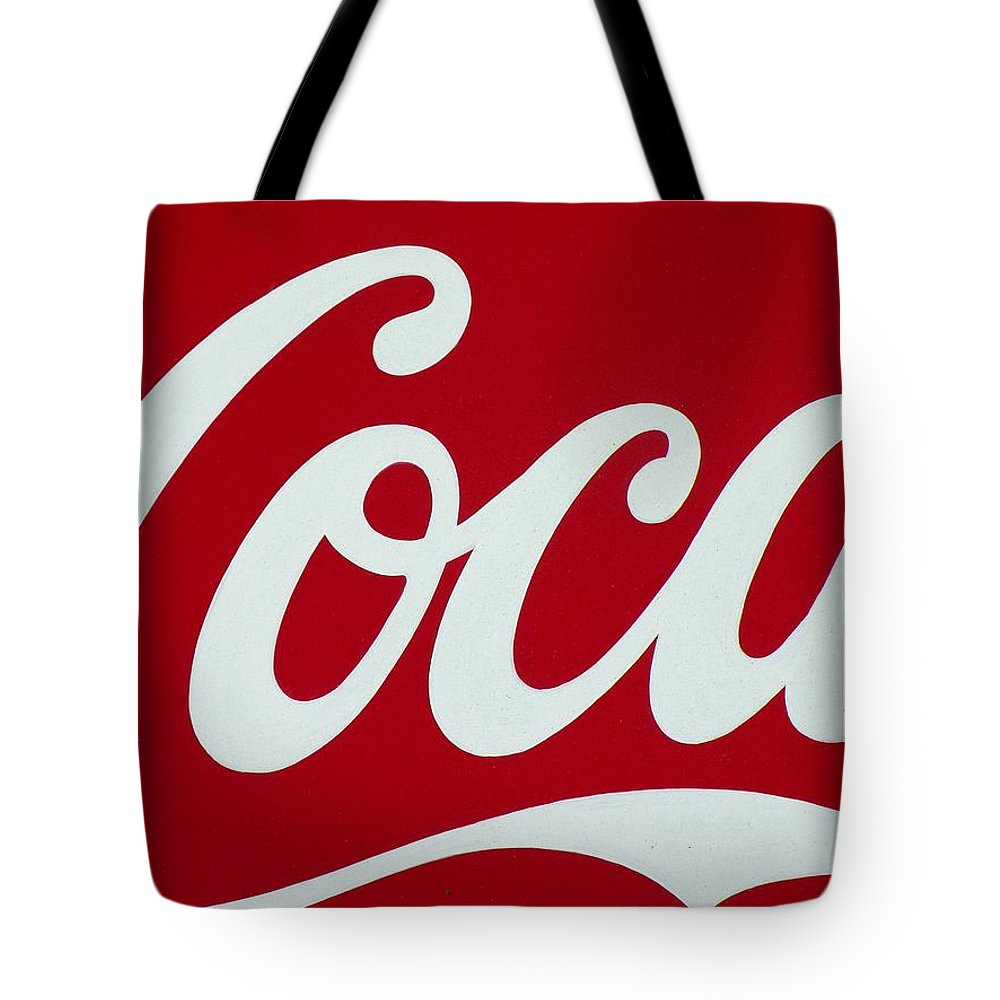 Coca Tote Bag featuring the photograph Coca by M Pace