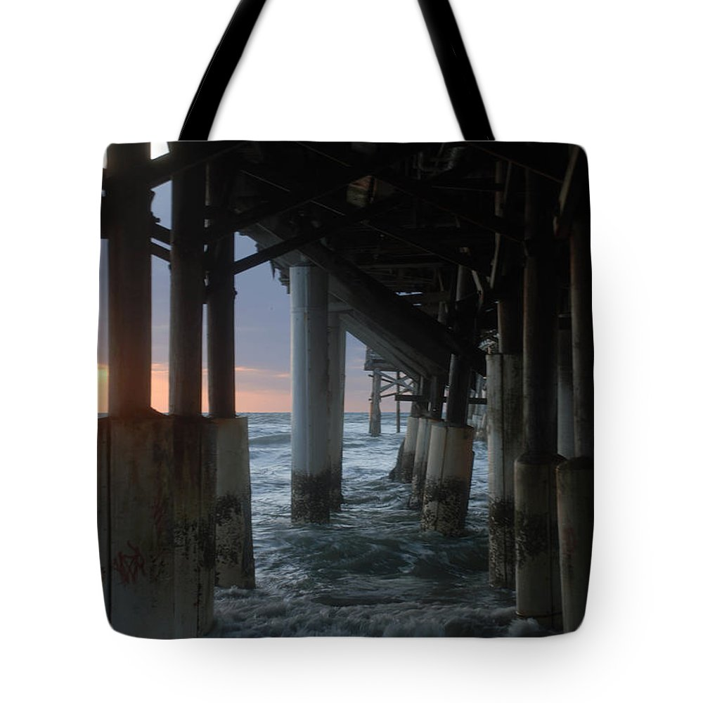Pier Tote Bag featuring the photograph Coco cool by Breaking Art