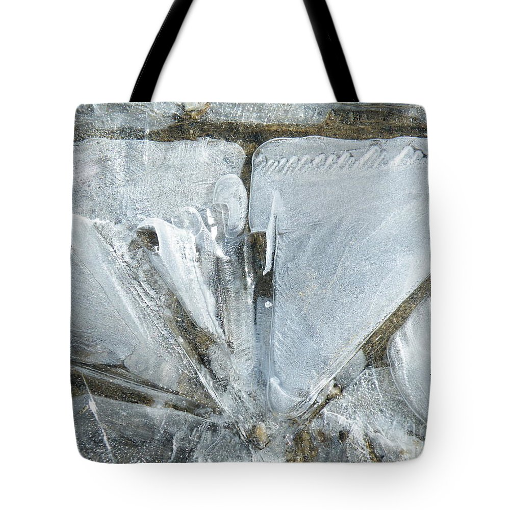 Angle Tote Bag featuring the photograph Cold Calculation by Brian Boyle