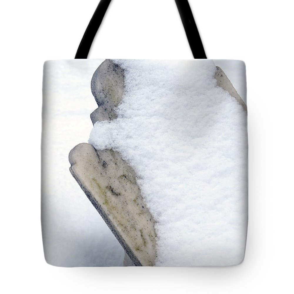 Tombstones Tote Bag featuring the photograph Cold Dead by Paul W Faust - Impressions of Light