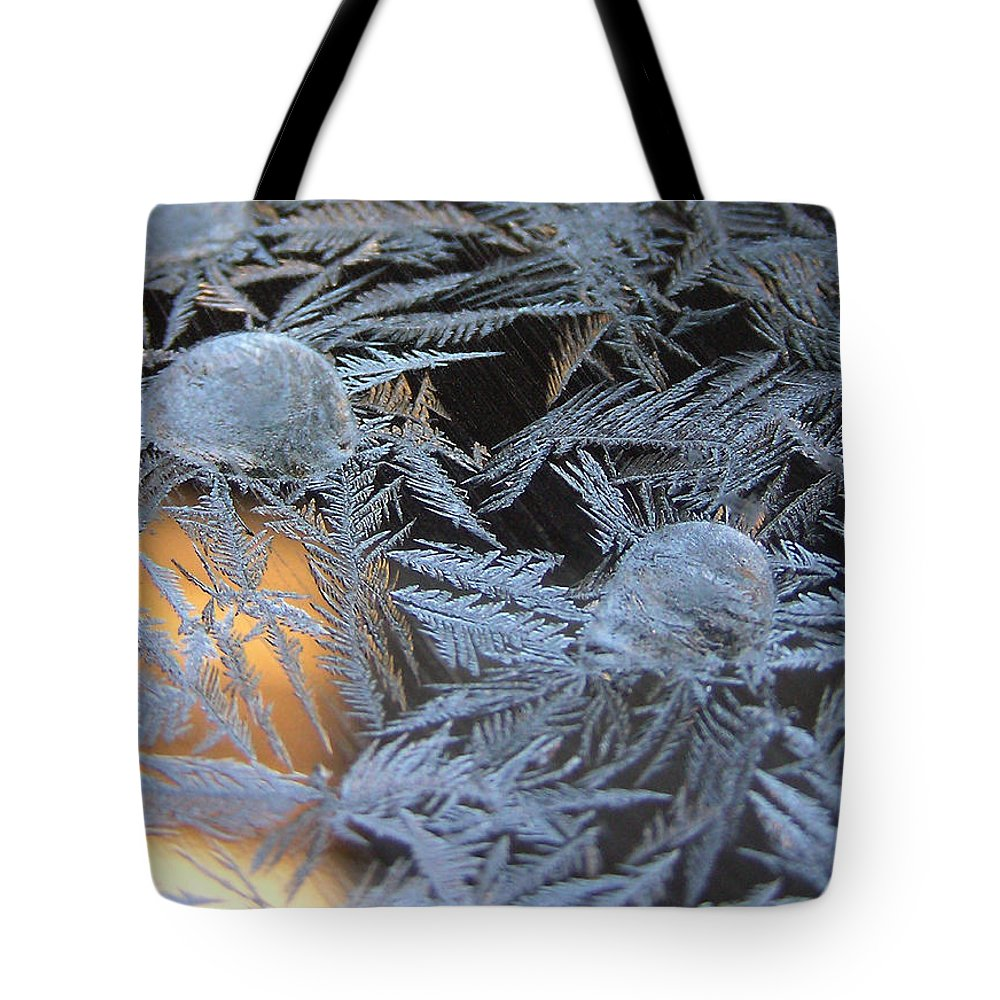 Frost Tote Bag featuring the photograph Cold Morning by Shannon Story