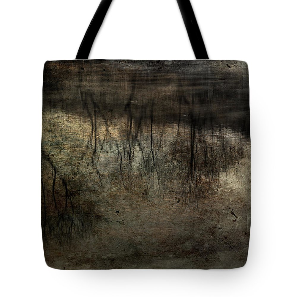 Fog On Water Tote Bag featuring the photograph Cold Reflection 2 by Michael Eingle