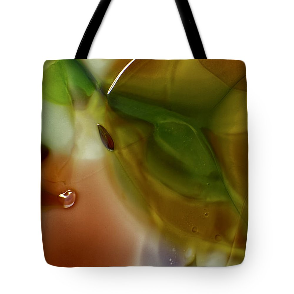 Blue Tote Bag featuring the photograph Color Chaotic by Omaste Witkowski