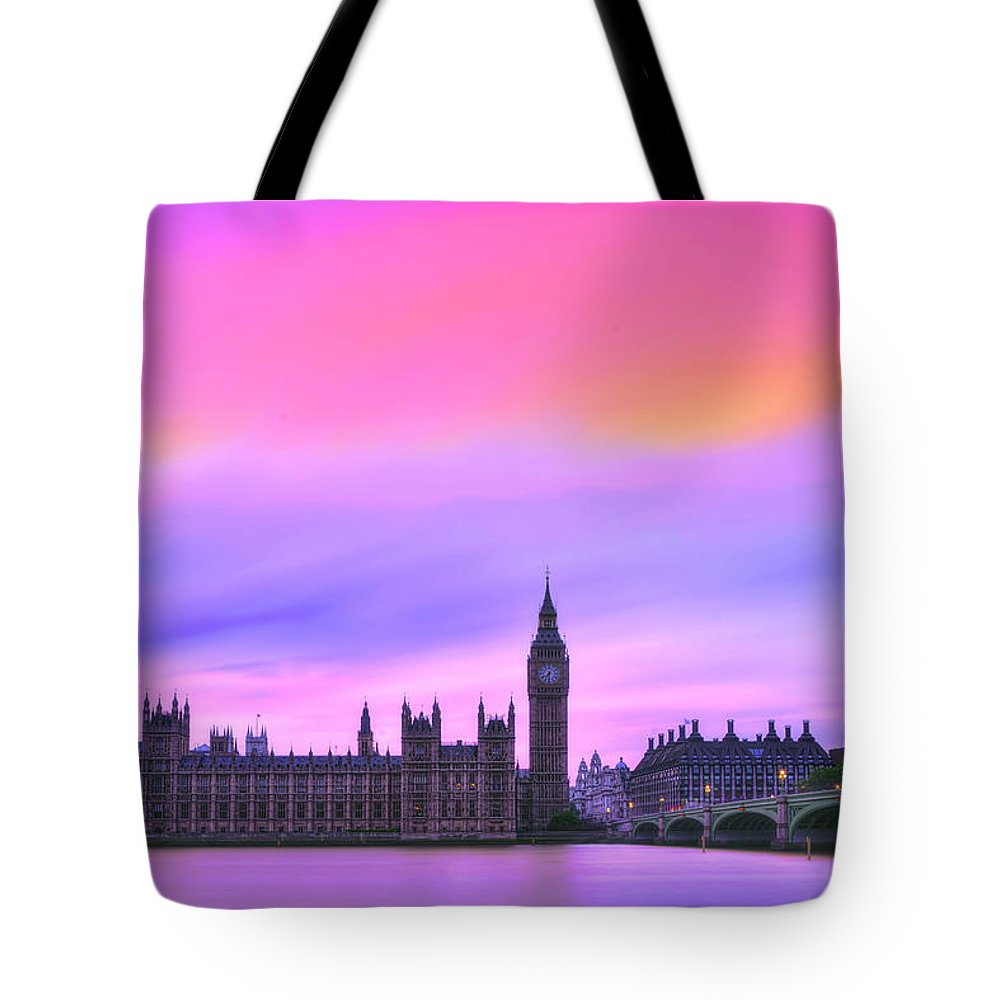 London Tote Bag featuring the photograph Color My World by Midori Chan