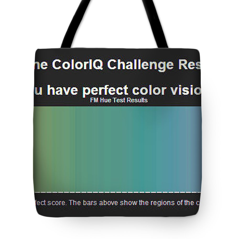 Tote Bag featuring the painting Color Test Melissa Bittinger by Melissa Bittinger