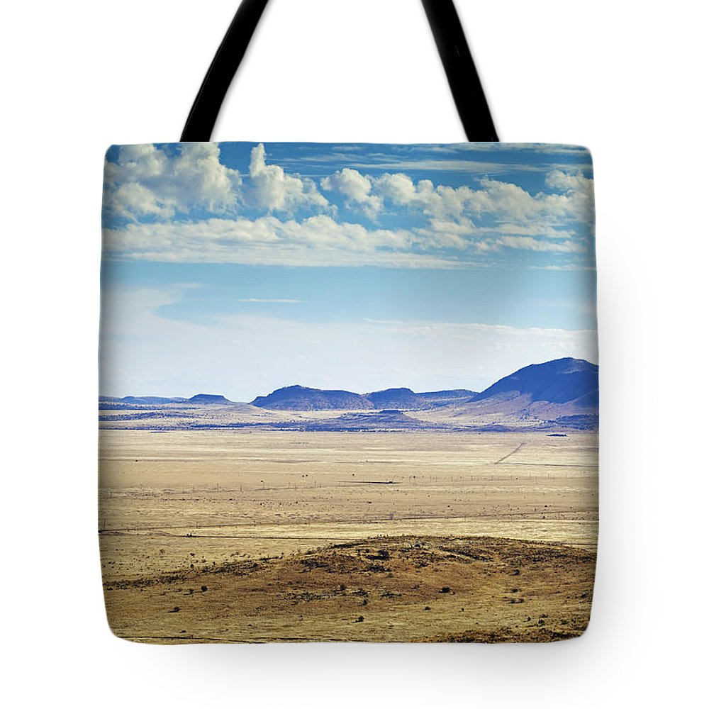 Canvas Prints Tote Bag featuring the photograph Color View Of West Texas by Phill Doherty