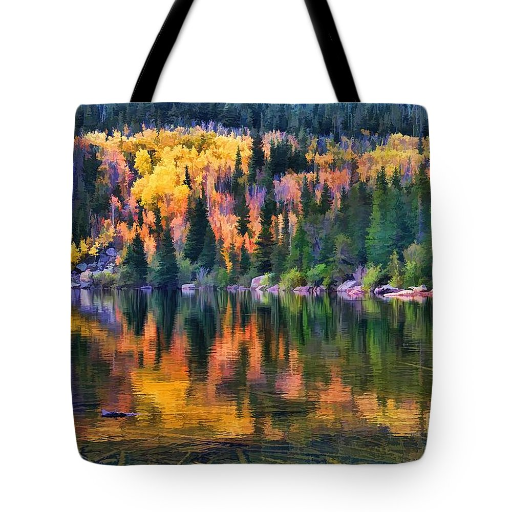 Autumn Tote Bag featuring the photograph Colorado Autumn by Jon Burch Photography