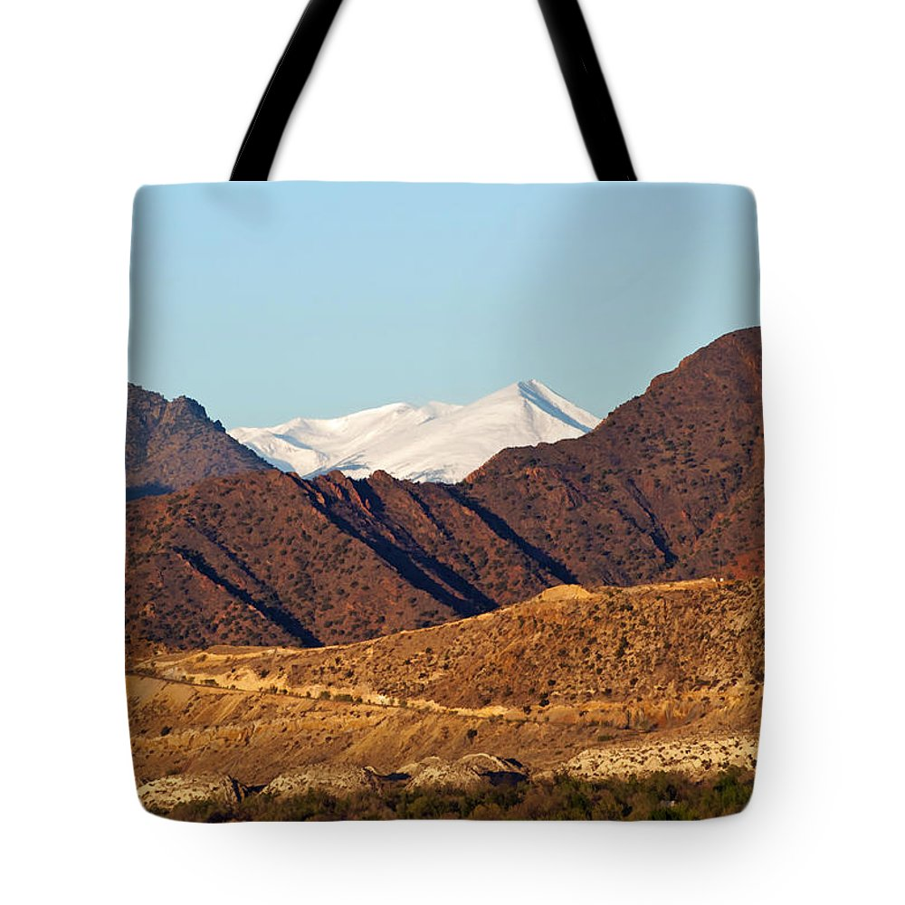 Mountain Tote Bag featuring the photograph Colorado Mountain High by Donna Doherty