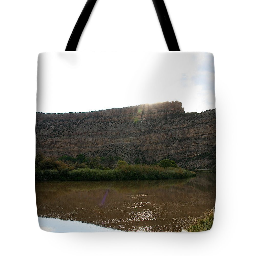 Outdoors Tote Bag featuring the photograph Colorado Sparkle by Susan Herber
