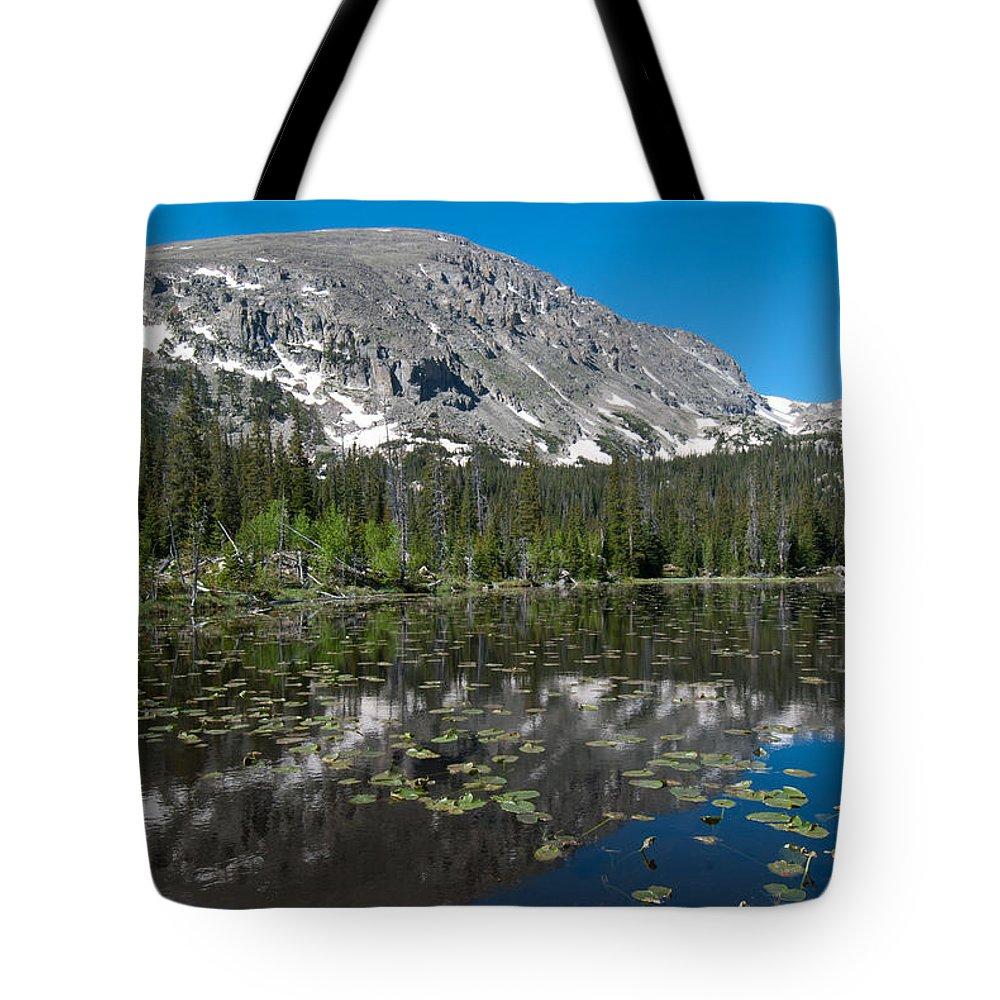 Colorado Tote Bag featuring the photograph Colorado Wild Basin Landscape by Cascade Colors