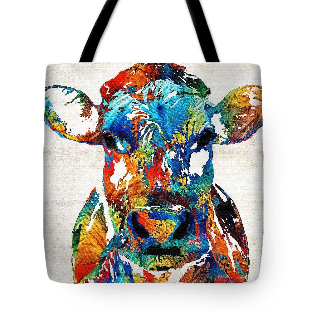 Bull Tote Bags