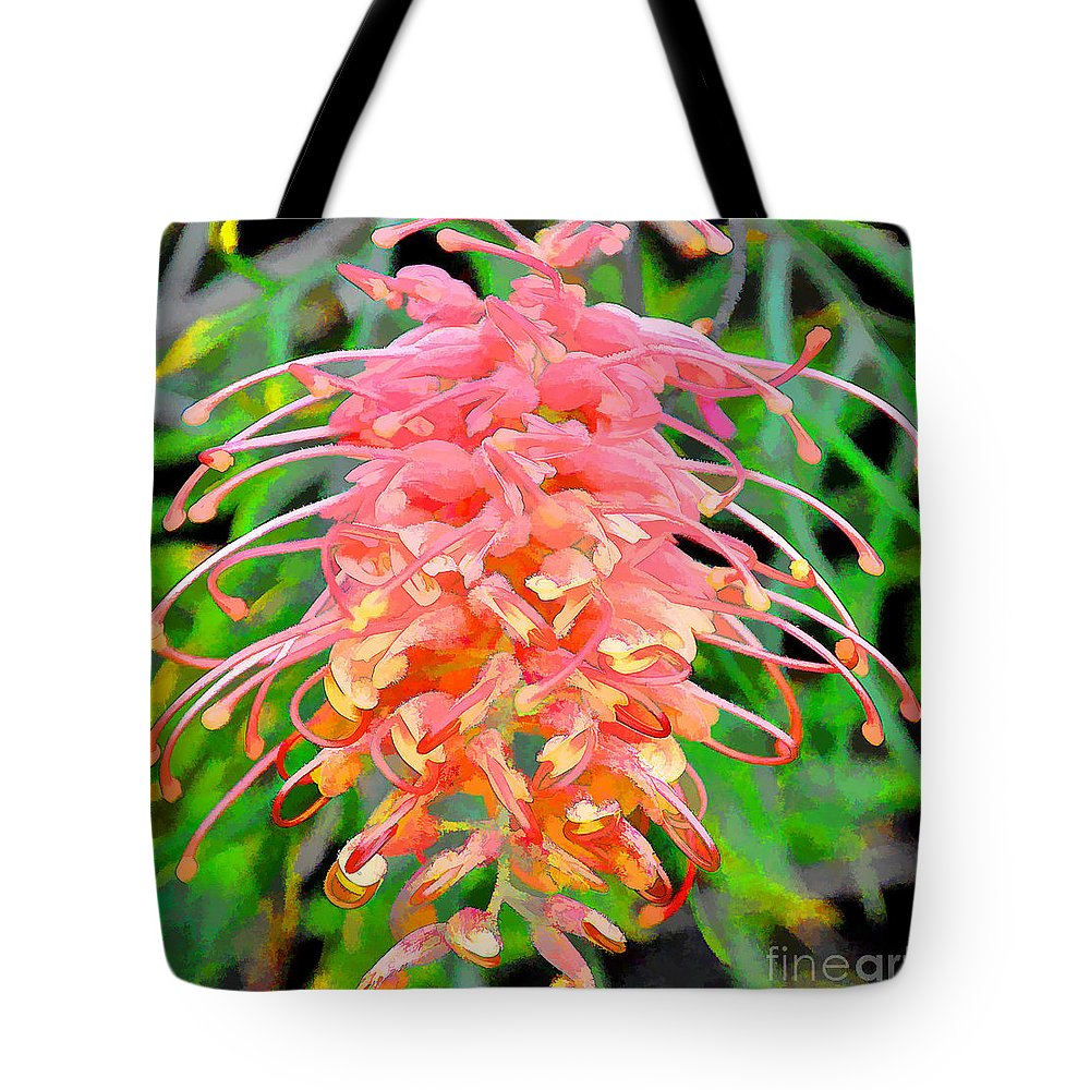 Flower Tote Bag featuring the photograph Colorful Exotic by Patrice Dwyer