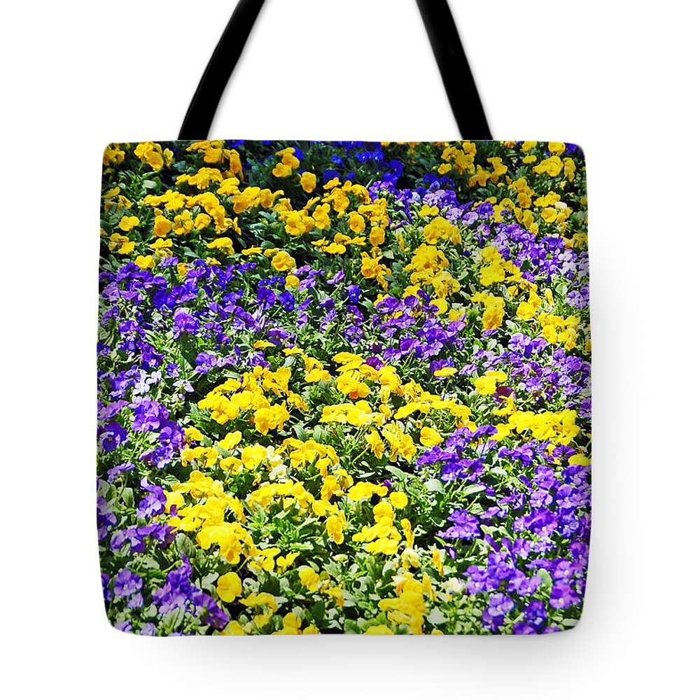 Flower Tote Bag featuring the photograph Colorful Garden by Aimee L Maher ALM GALLERY