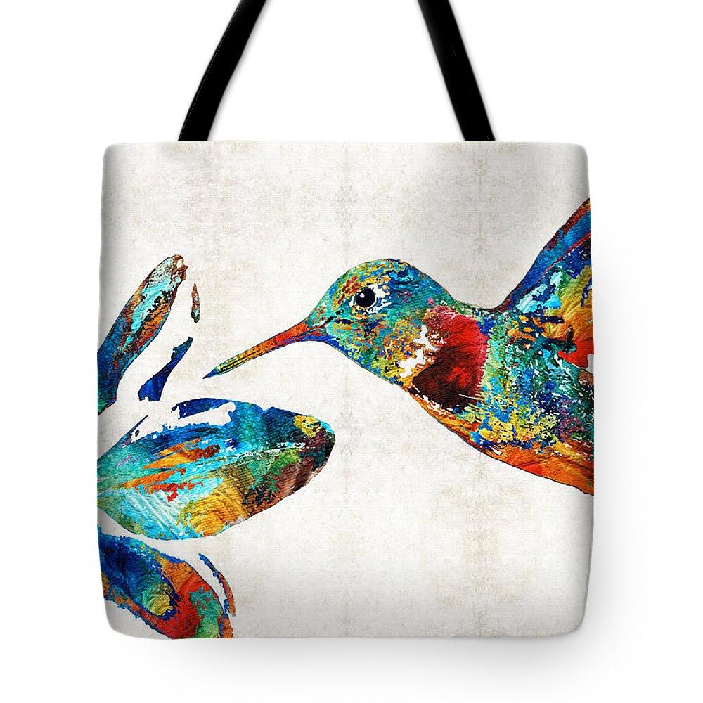 Hibiscus Flower Paintings Tote Bags
